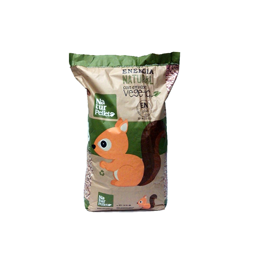 Pellets palet con 70 sacos de 15 kg - Pellets precio kilo ...