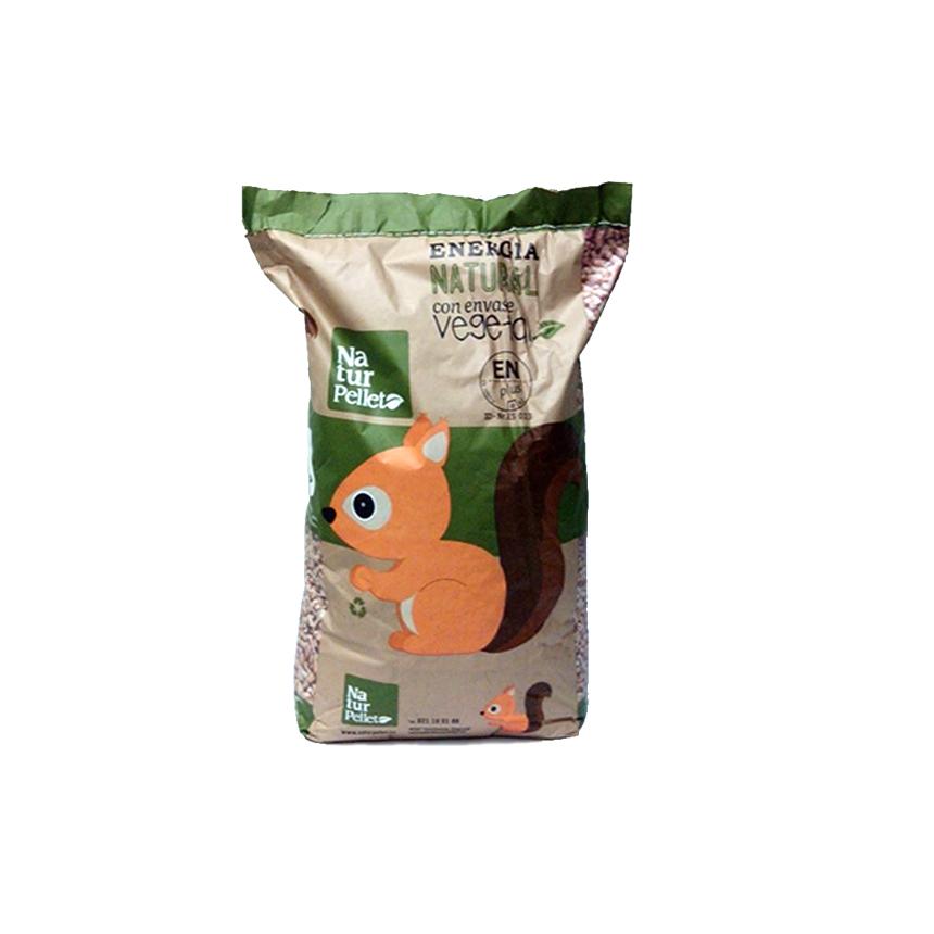 Pellets palet con 70 sacos de 15 kg - Sacos de pellets ...